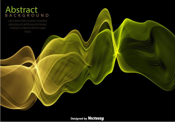 Vector Colorful Abstract Wave