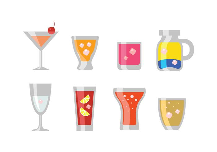 Mocktail Vector Icon