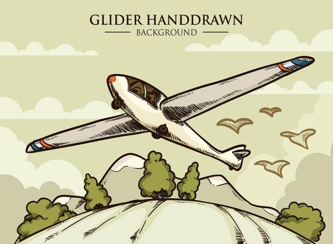 Glider Vektor Illustration