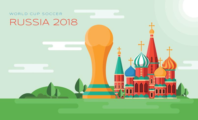 World Cup Soccer vector