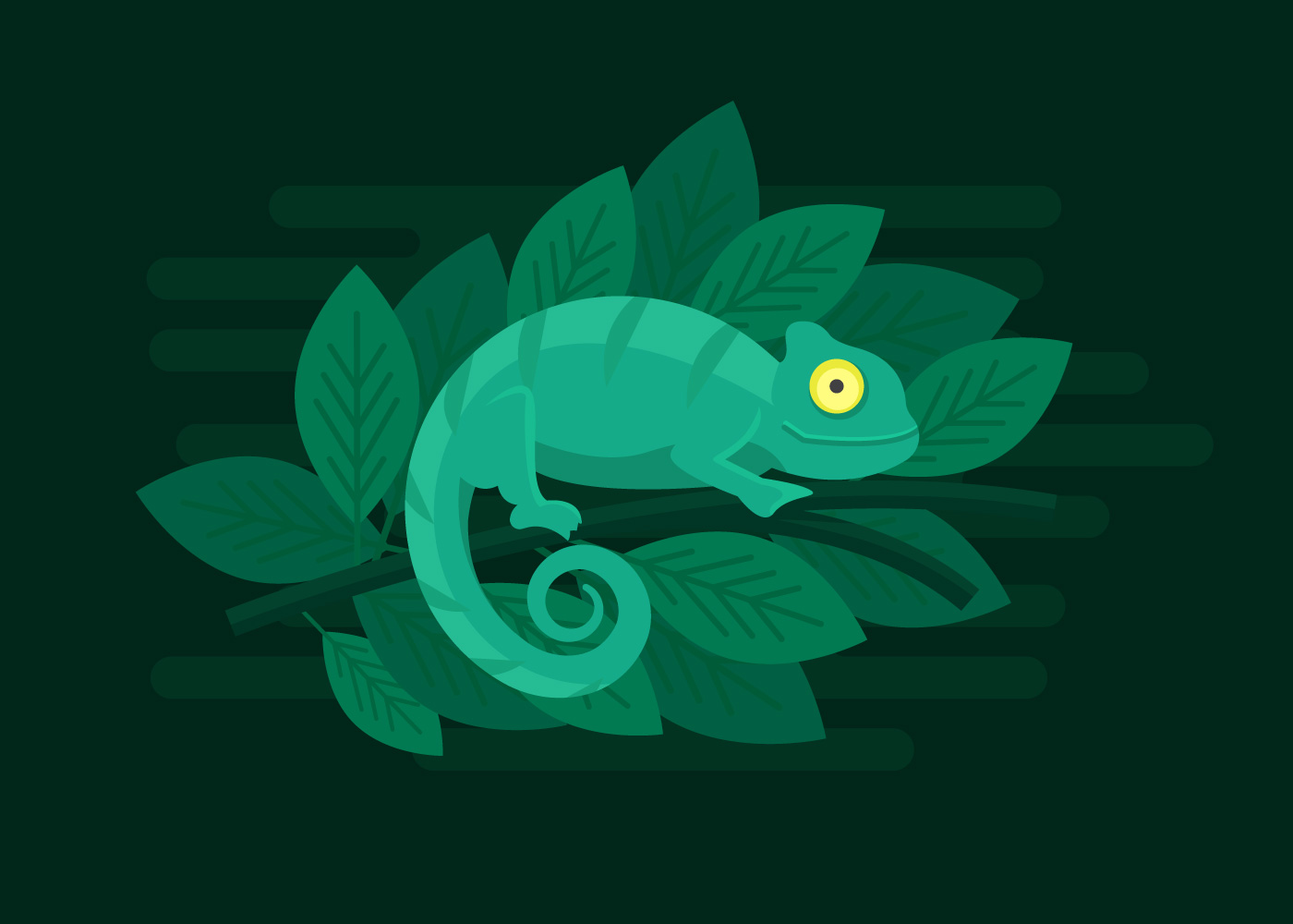 Chameleon Vector Images (over 2 )