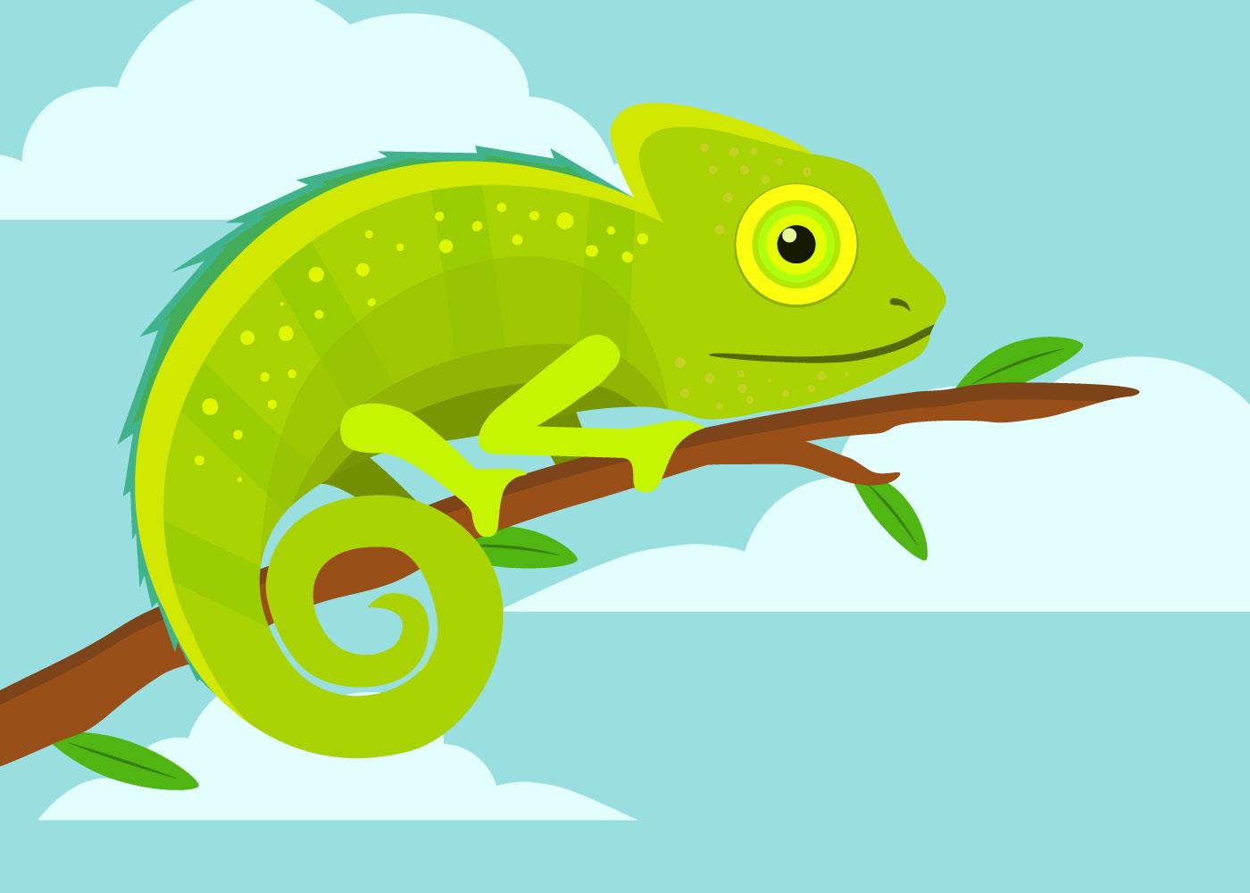 Colorless Funny Cartoon Scorpion Vector on Preschool Chameleon Art