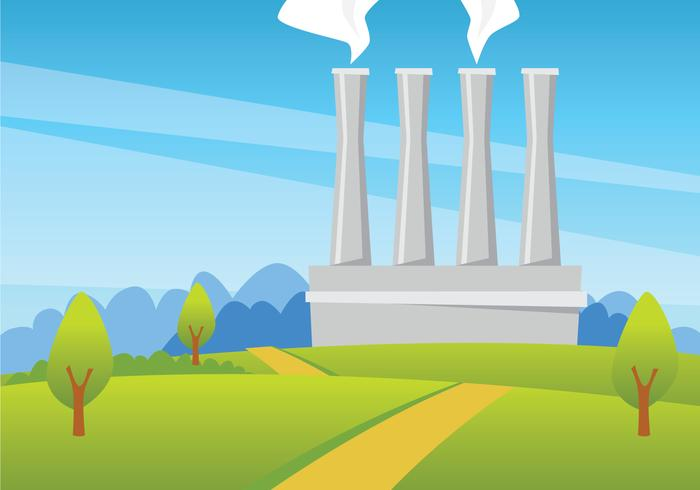 Geothermal Energy Illustration vector