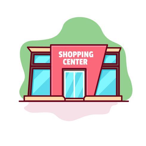 Kostenloses Vektor-Einkaufszentrum