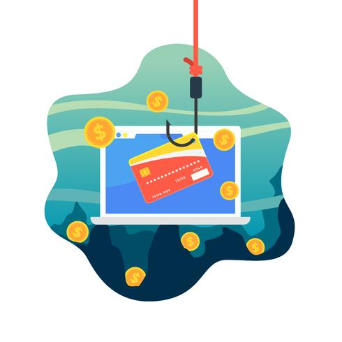 Free Vector Credit Card Phishing