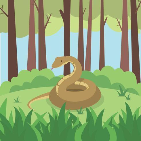 Free Anaconda Illustration