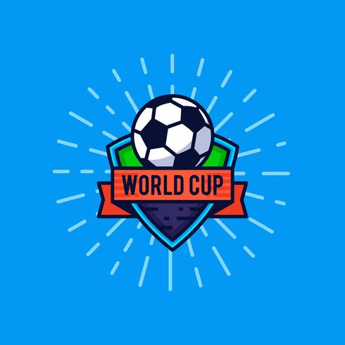 World cup logo badge