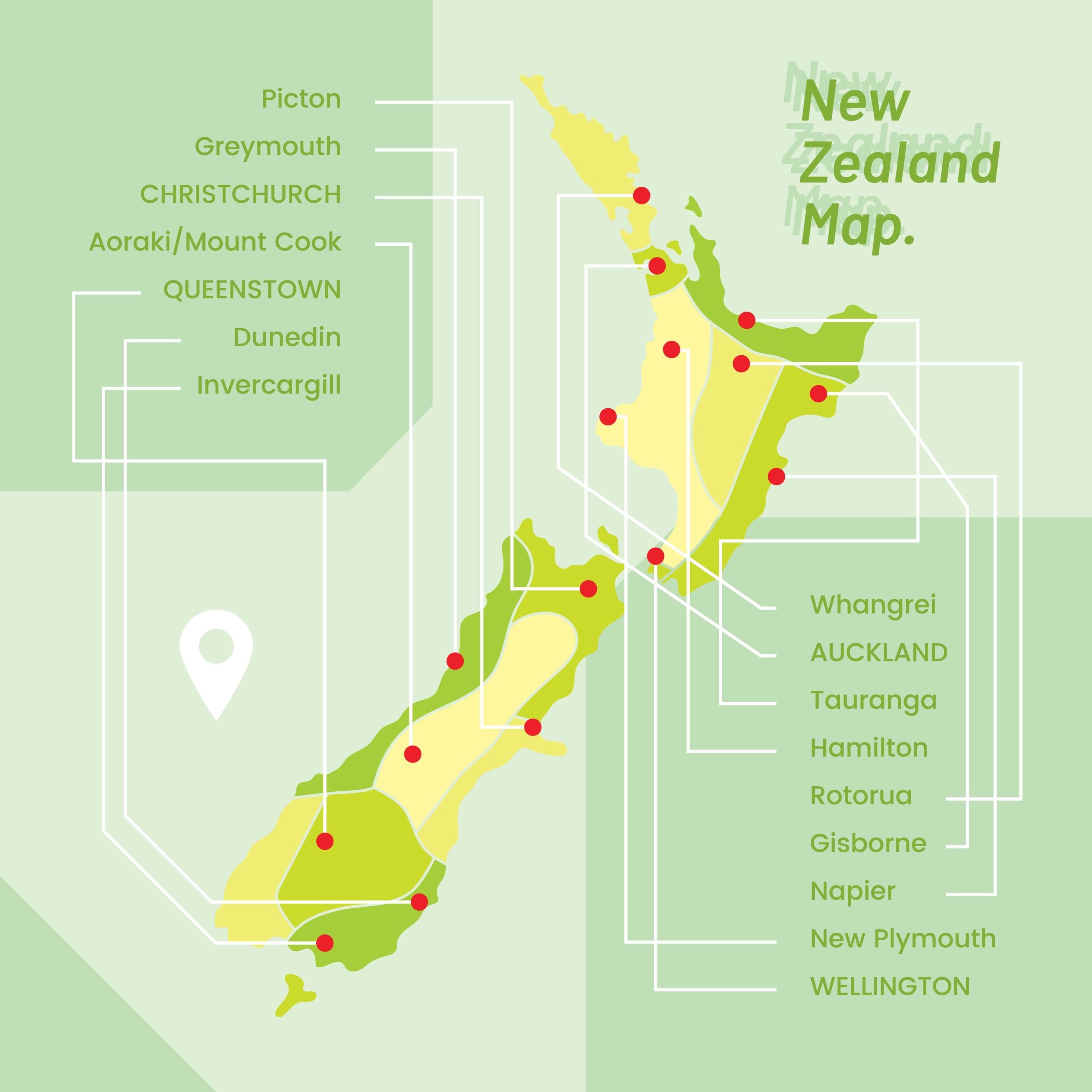 Map Of New Zealand Queenstown.Queenstown Free Vector Art 11 Free Downloads