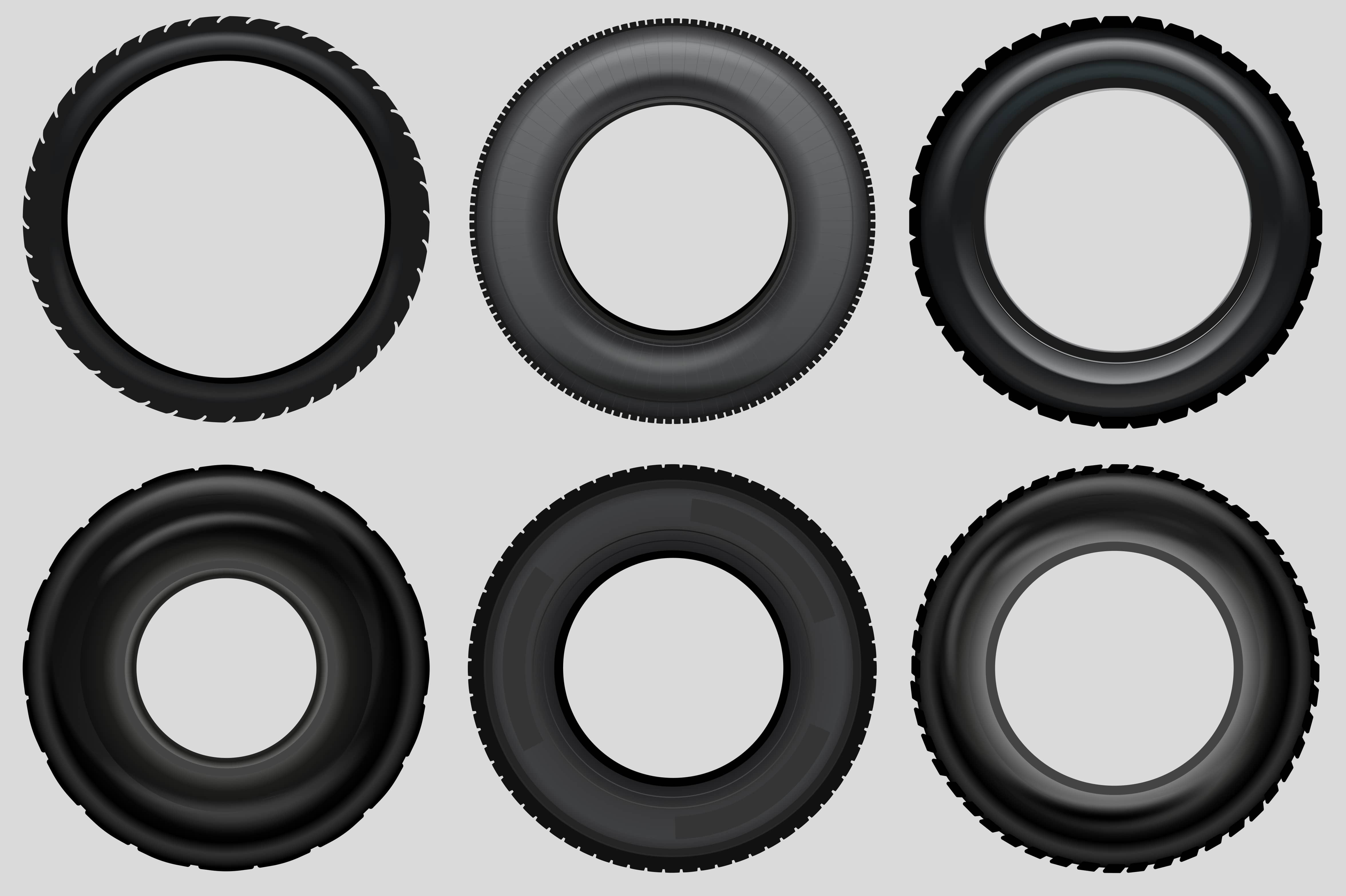 Vector Pneumatic Tire Set