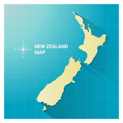Nya Zeelandskarta