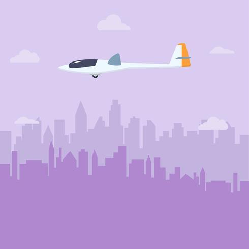 platt glider vektor