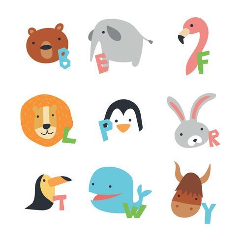 Alfabeto animale