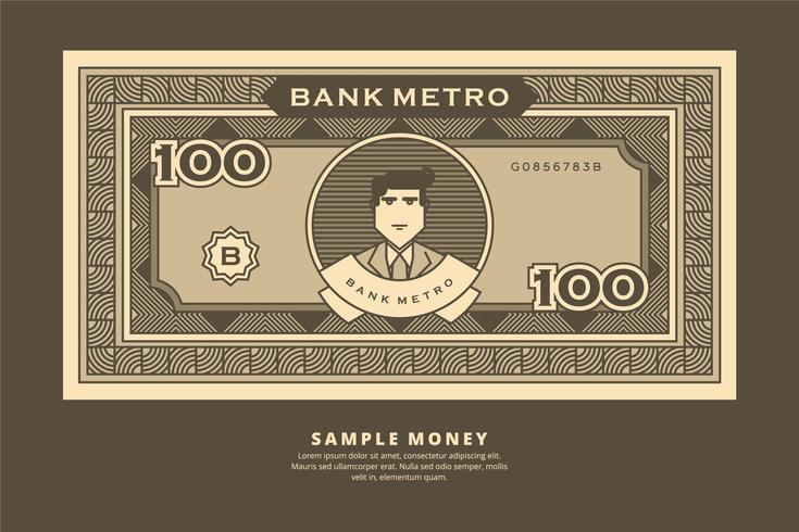 Sample Money Illustration