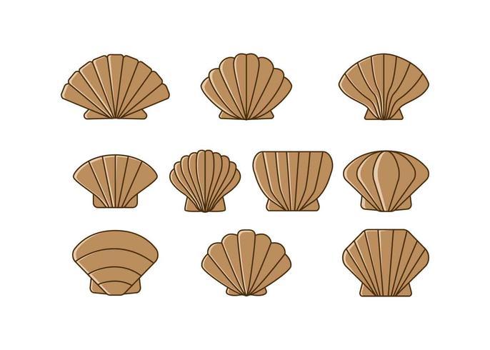 Free Scallops Icon Vector