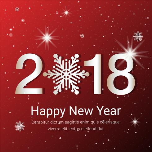 Free flat design vector new year greeting card download free free flat design vector new year greeting card m4hsunfo Choice Image