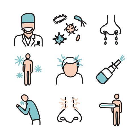 vectores de enfermedad sinusal