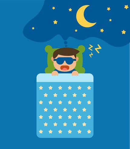 Vetores únicos de horas de dormir