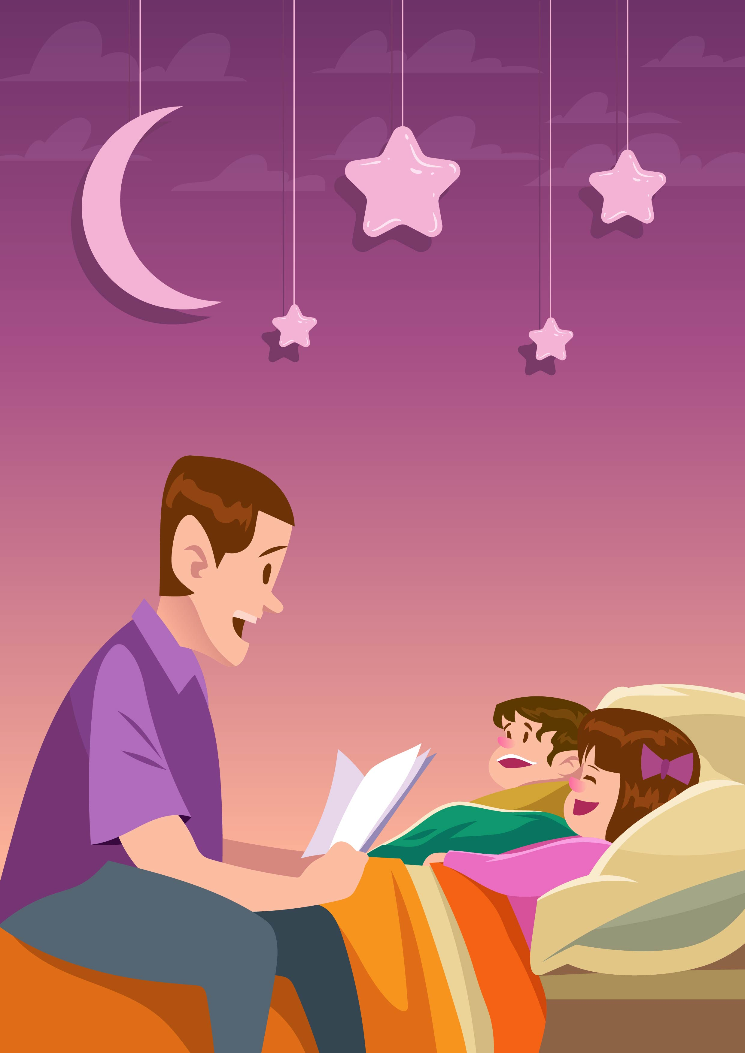 Bedtime story download free vector art stock graphics for Bed stories online