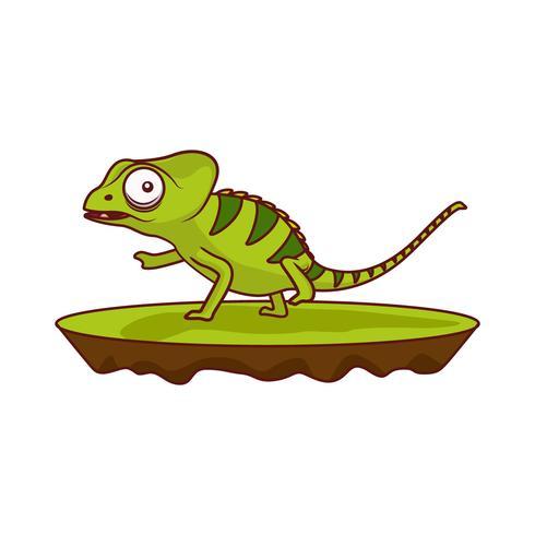 Vektor kameleon