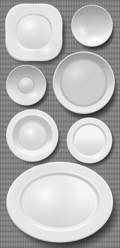 Vector Crockery Set