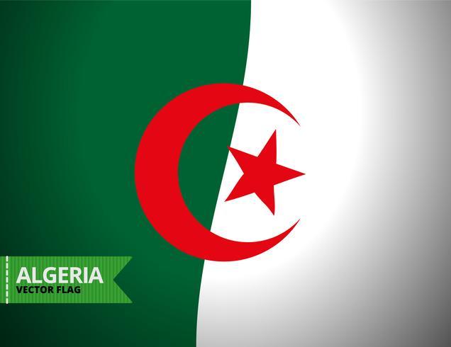 Vector bandera de Argelia