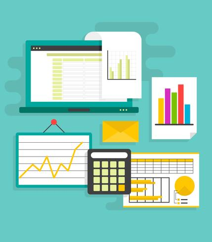 Unieke spreadsheet-vectoren