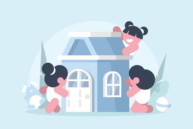 Speelhuis Illustratie