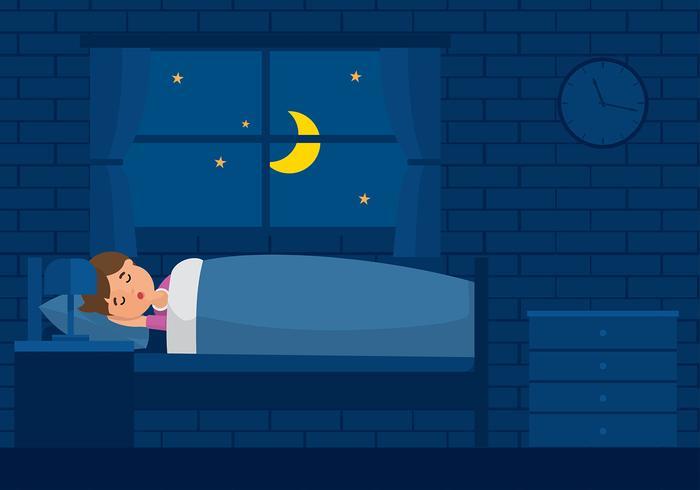 sömnfri vektor