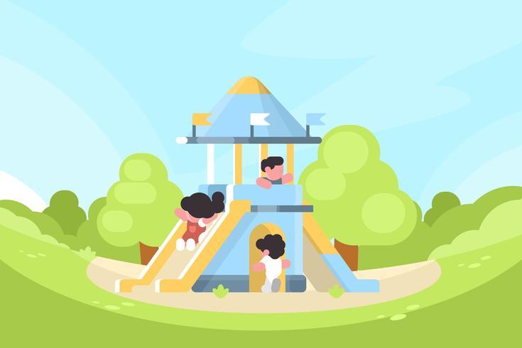 playhouse illustration vektor