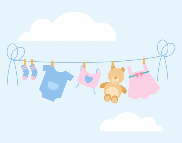 Iconic Babyshower Vectors
