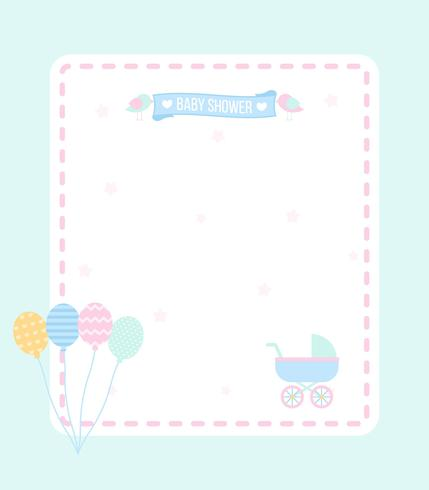 Printable Babyshower Vector
