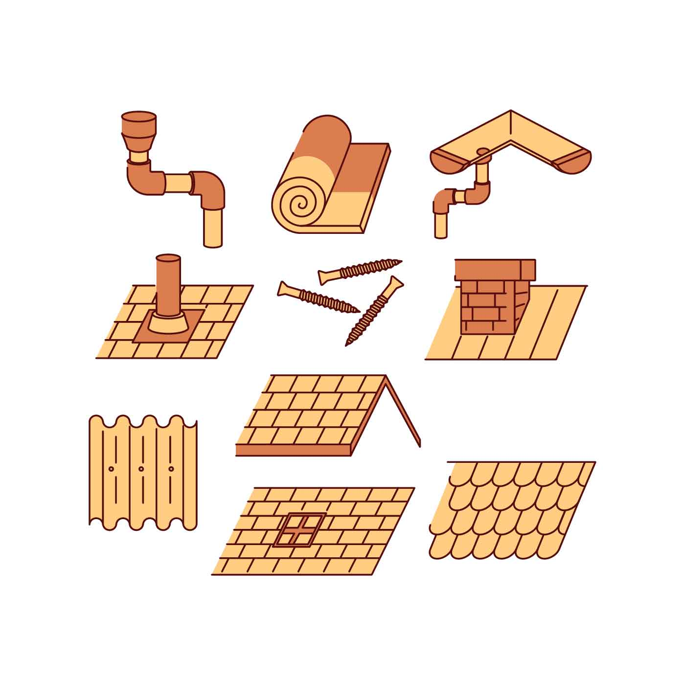 Roofer Vector Free Roof Icon ...