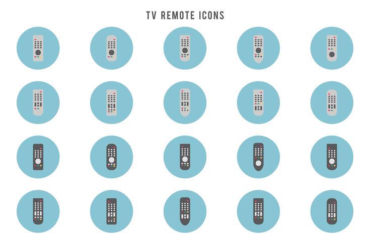 Vectores remotos de TV gratis