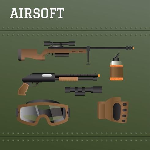 Airsofts Free Vector