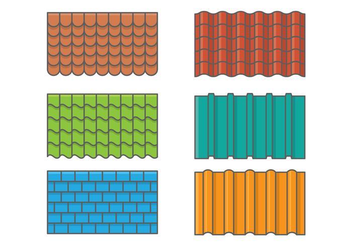 ensemble de tuiles de toit t l chargez de l 39 art des graphiques et des images vectoriels gratuits. Black Bedroom Furniture Sets. Home Design Ideas
