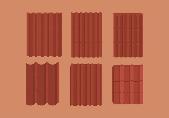 Roof Tile Free Vector