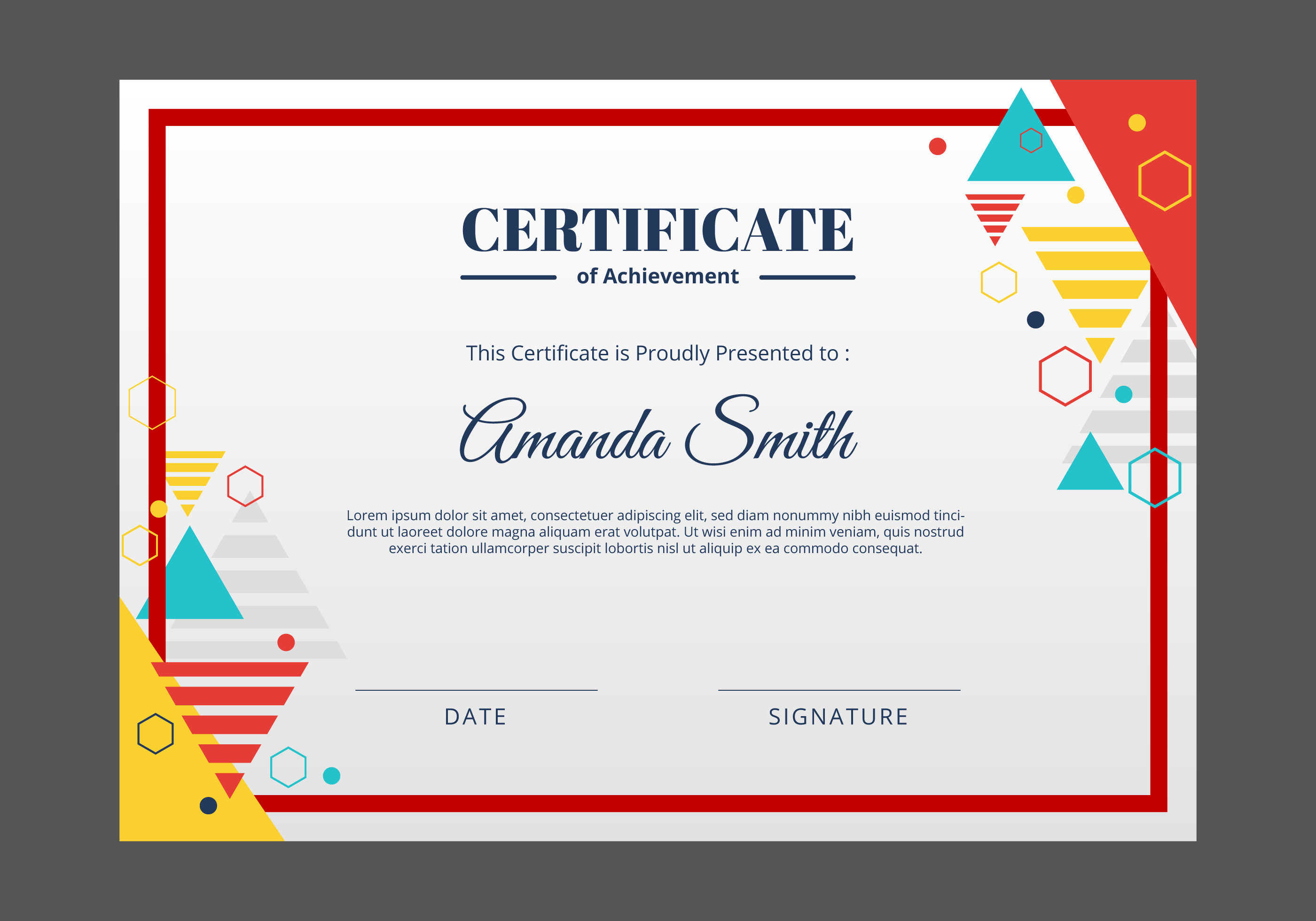 certificate template free vector art 14976 free downloads