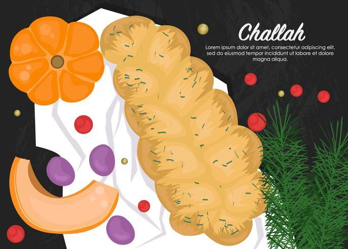 Heerlijk Challah-brood