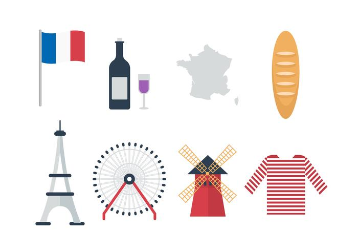 France Vector Icons