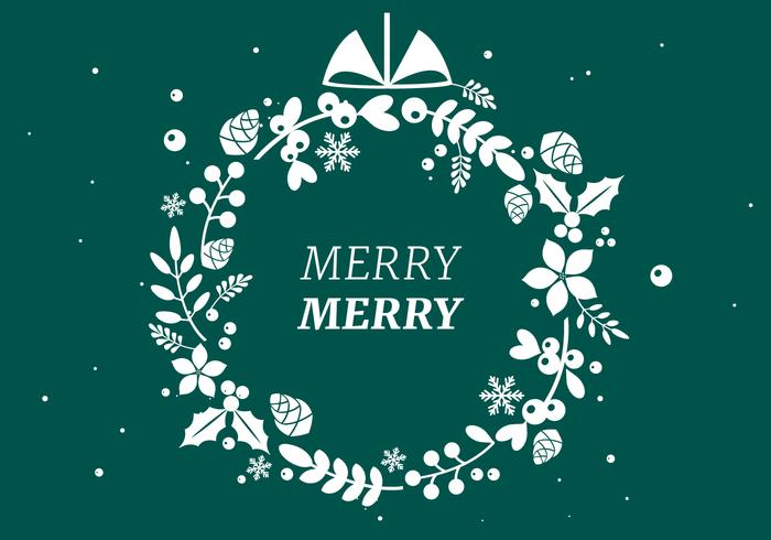 Gratis jul vektor bakgrund