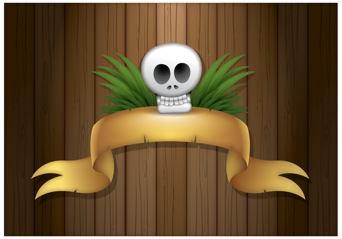 Free Pirate Banner Vector