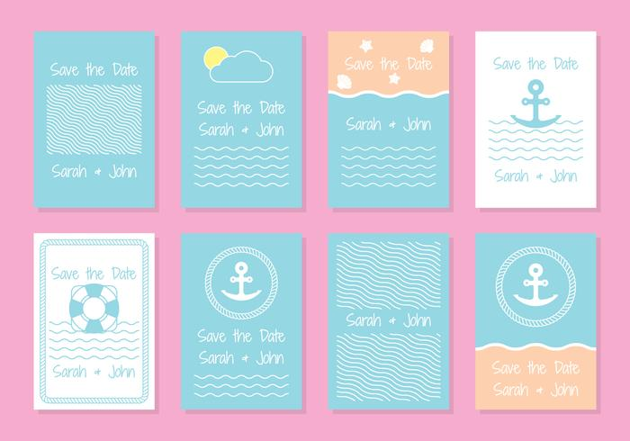 Nautical wedding invitation card templates download free vector nautical wedding invitation card templates stopboris Images