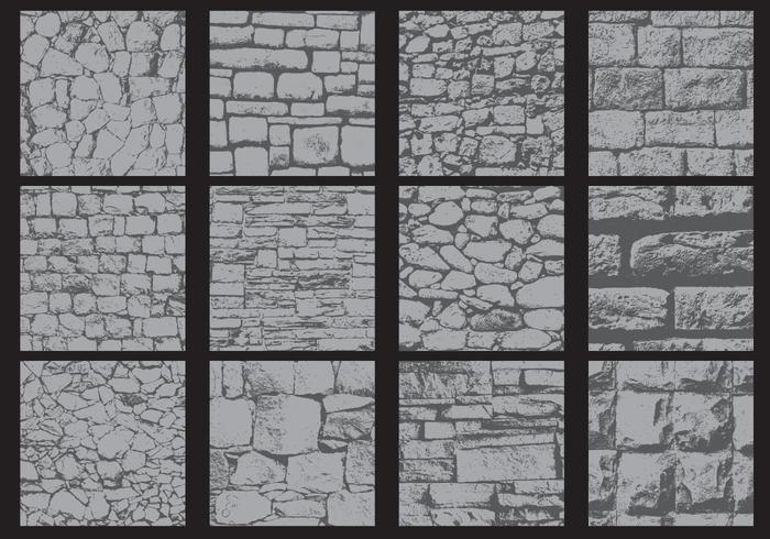 Irregular Wall Textures