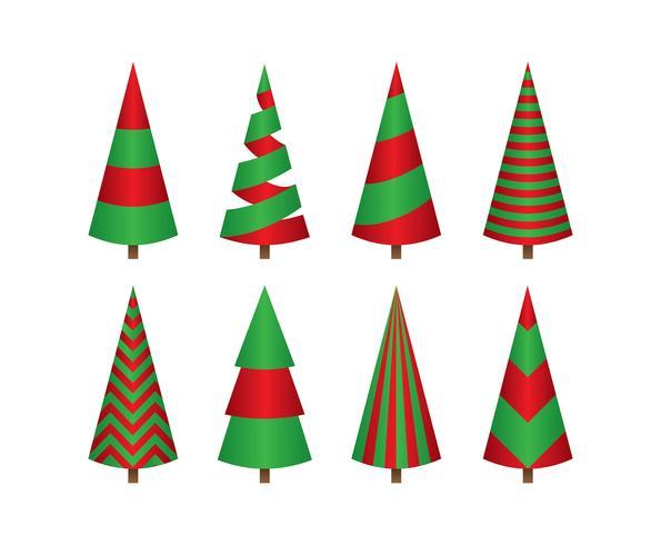 Dibujos Animados De árbol De Navidad Simple