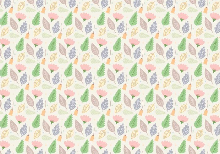 EARMARKED Flower Pastel Pattern