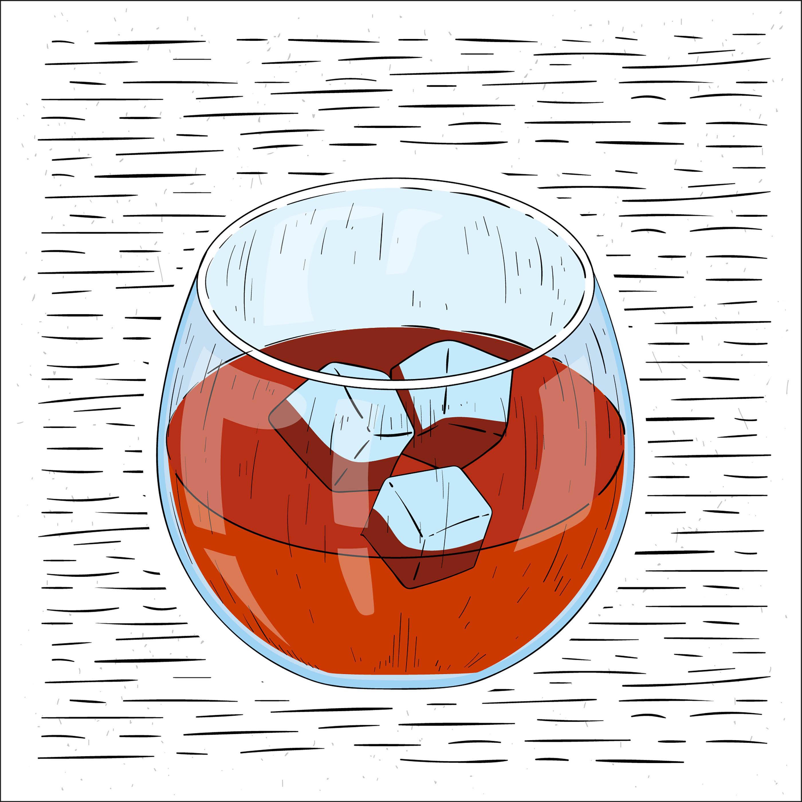 Hand Drawn Vector Drink Illustration