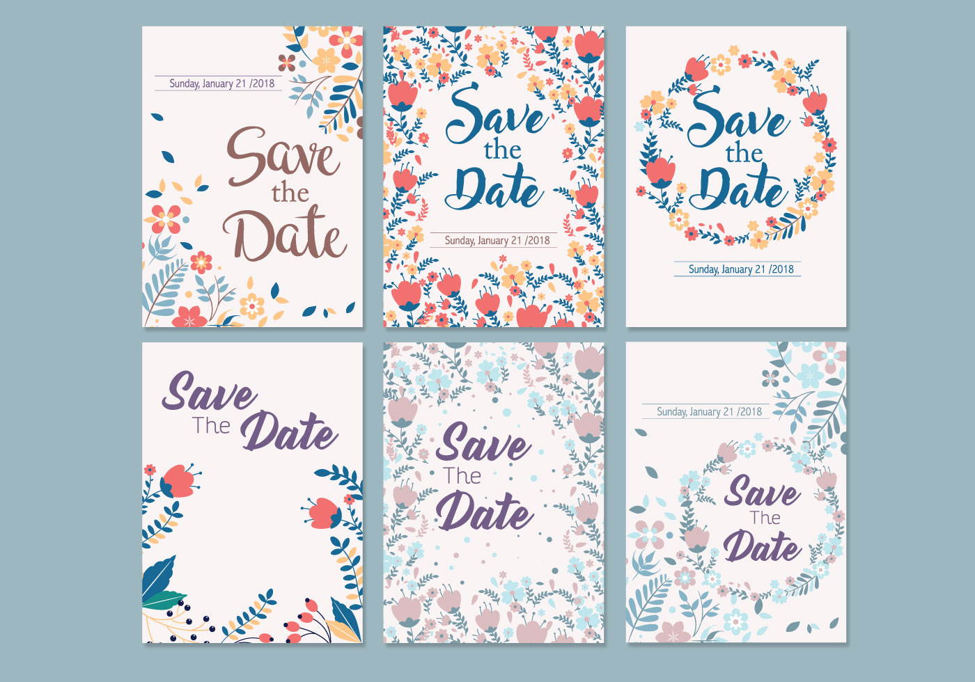 Save the date online templates in Perth
