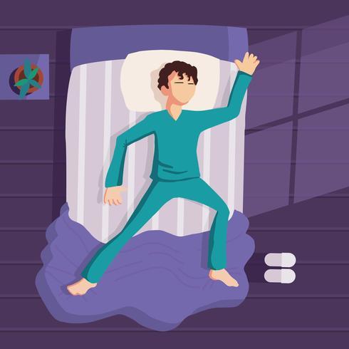Gratis illustratie voor het slapengaan