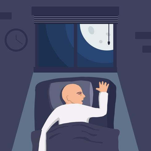 Bedtime Vector Illustration