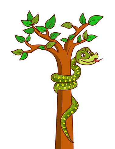 Anaconda snake vector